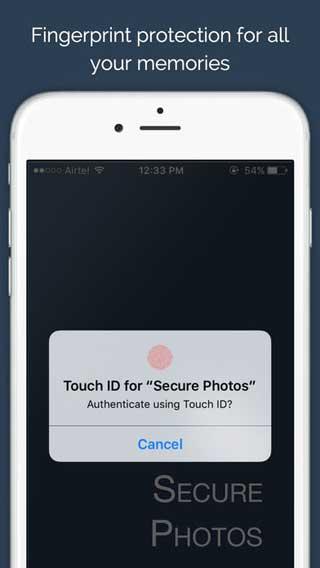 تطبيق Secure Photos لحفظ وحماية صورك الخاصة بأمان
