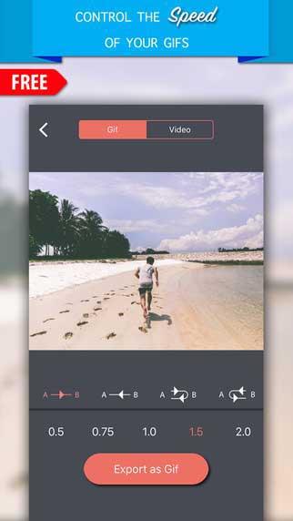 تطبيق Live Photo Gif لتحويل صورك إلى Gif أو فيديو