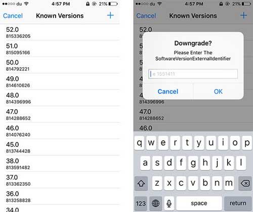 أداة App Admin لتحميل إصدارات قديمة من التطبيقات