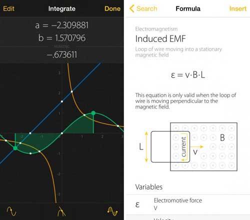 تطبيق Archimedes Calculator حاسبة أرخميدس للأيفون