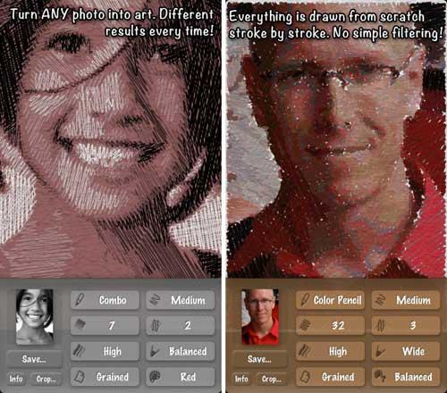 تطبيق SketchMee لتحويل صورك لصور رصاص