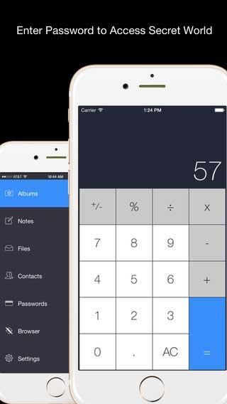 تطبيق Secret Calculator Plus لاخفاء الملفات المهمة