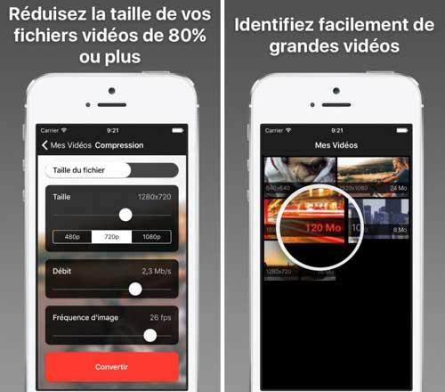 تطبيق Video Shrinker لضغط وتحويل مقاطع الفيديو