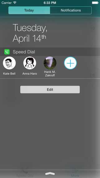 تطبيق Speed Dial-widget للاتصال السريع بالاشخاص