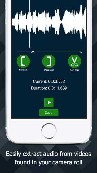 تطبيق The Audio Extractor لاستخراج الصوت من الفيديو