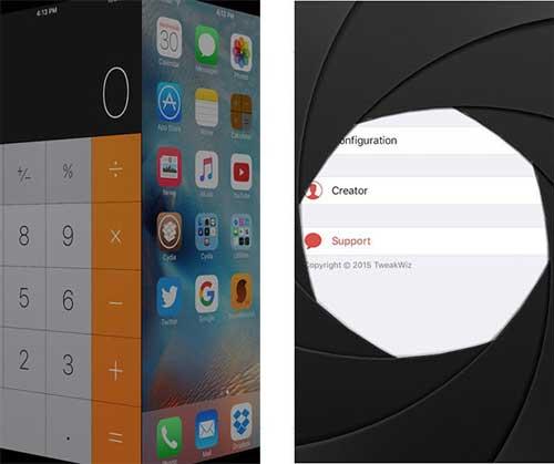 أداة SweetDisplay لتغيير طريقة التنقل بين التطبيقات