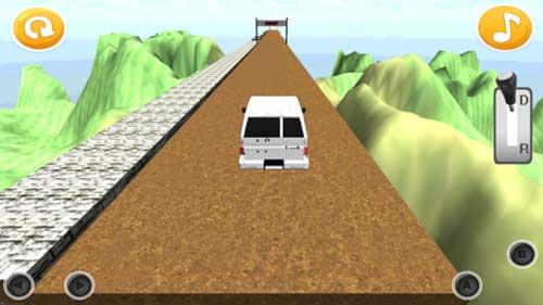 لعبة Don't Stop - لايوقف، العربية لتحدي قيادة السيارات
