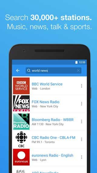 تطبيق Streema للاستماع لمئات قنوات الراديو عبر هاتفك الذكي