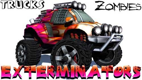 لعبة Trucks للقضاء ومحاربة الزومبي