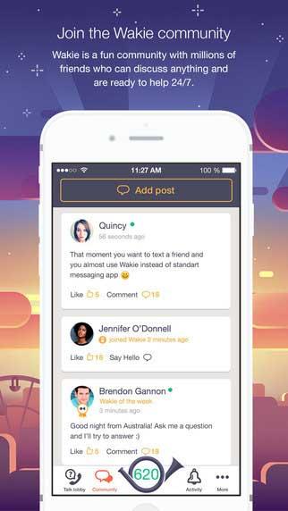 تطبيق Wakie: للمحادثة الصوتية بفكرة عبقرية للتواصل مع أشخاص من جميع أنحاء العالم