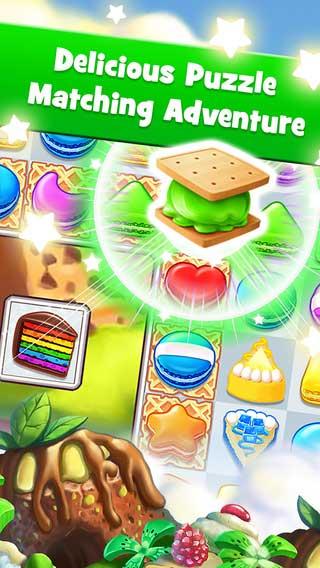 لعبة Cookie Jam - لعبة ترتيب الحلويات والتحدي الكبير