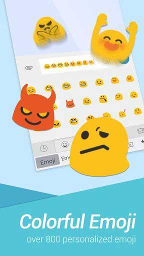 تطبيق TouchPal لوحة مفاتيح متخصصة في الايموجي المنوعة