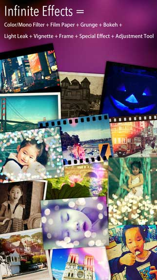 تطبيق iDarkroom لتحرير الصور مع الكثير من المزايا