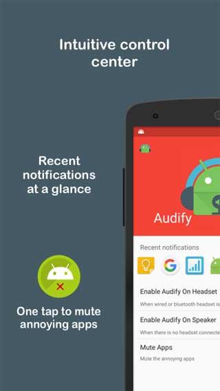تطبيق Audify Notification Reader لعرض الإشعارات المهمة