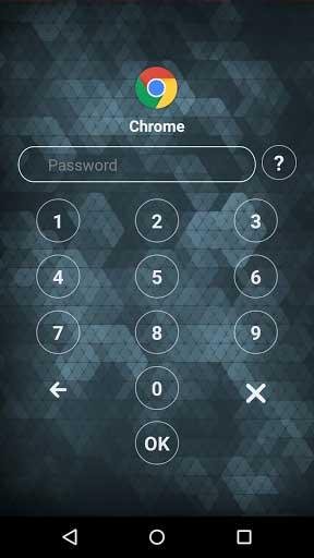 تطبيق AppLock لغلق التطبيقات بأرقام سرية