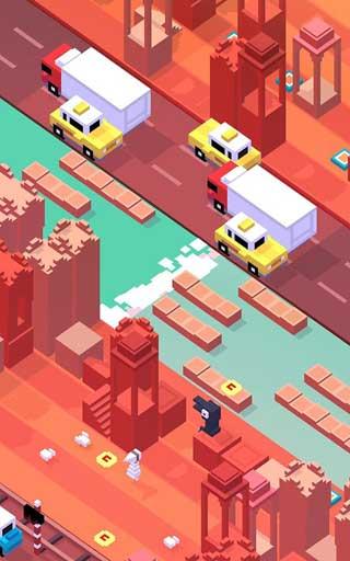 لعبة Crossy Road أو طريق الخطر الممتعة والمسلية