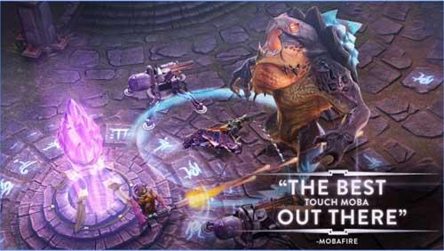 لعبة Vainglory الخيالية لمحبي ألعاب المغامرة