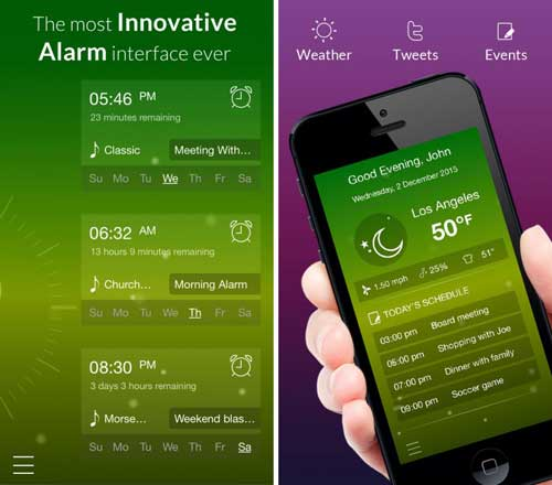 تطبيق Alarmr Pro منبه بمزايا رائعة - مجانا لوقت محدود