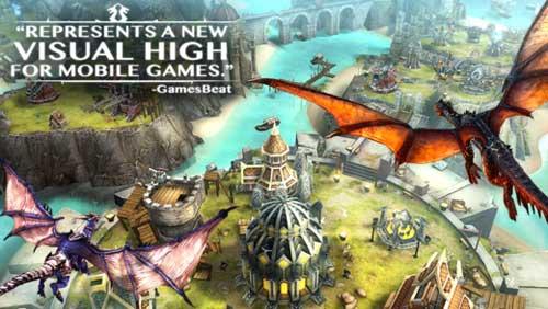 لعبة War Dragons تجمع ما بين الخيال والاستراتيجية