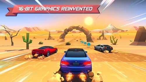لعبة Horizon Chase سباق السيارات والتحدي