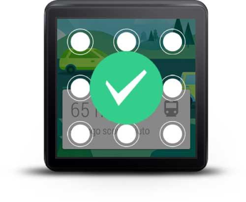 تطبيق Shower لغلق ساعتك الذكية برسمات متقاطعة