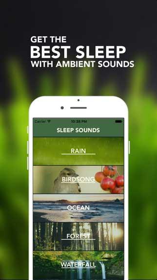 تطبيق Sleep Maker - أصوات طبيعية لنوم هادئ