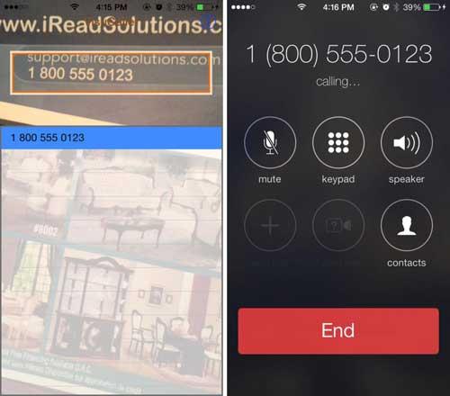 تطبيق VisuCaller للاتصال بالأرقام المكتوبة بتصويرها فقط