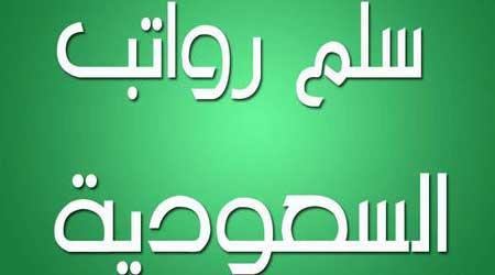 صورة تطبيق سلم رواتب السعودية الشامل لعرض تفاصيل الرواتب بدقة، مميز مفيد ومجاني