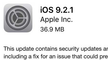 آبل تطلق رسميا التحديث الجديد iOS 9.2 - ما الجديد والمميزات ؟ آبل تطلق رسميا التحديث الجديد iOS 9.2 - ما الجديد والمميزات ؟