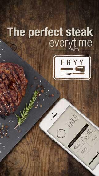 تطبيق FRYY - دليلك لطبخ شريحة لحم بطريقة مميزة
