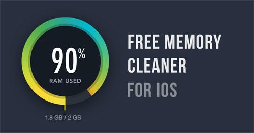 تطبيق GetSpace RAM لتنظيف الرام وتسريع الأيفون