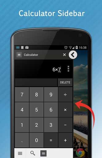 تطبيق Floating Calculator - حاسبة عائمة للاندرويد