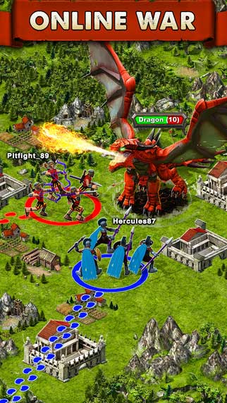 لعبة Game of War - Fire Age
