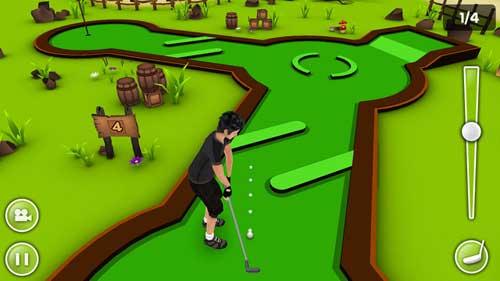 لعبة Mini Golf Game 3D المميزة لمحبي الغولف