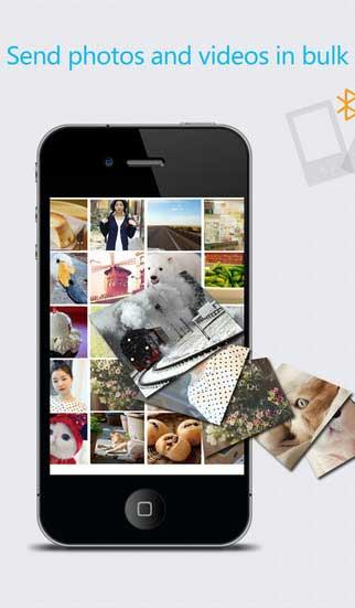 تطبيق Photo Share لنقل الصور عبر البلوتوث