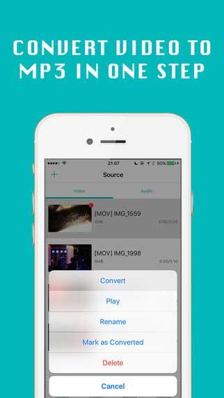 تطبيق VideoMP3 لتحويل مقاطع الفيديو إلى Mp3