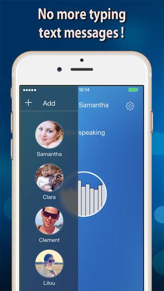 تطبيق Voice SMS لتحويل الكلام إلى نصوص