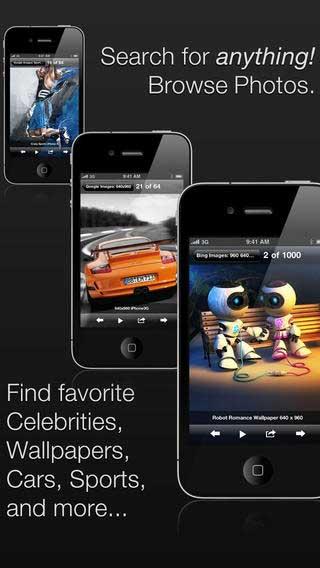 تطبيق picTrove Pro للبحث عن الصور