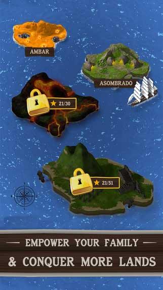لعبة The Archipels الاستراتيجية - رسوميات رائعة ومراحل كثيرة