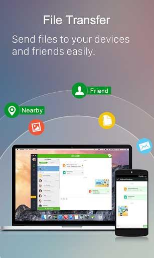 تطبيق AirDroid للتحكم بهاتفك من خلال الحاسوب