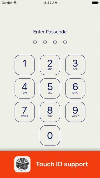 تطبيق Lock Notes لحماية الملاحظات بالبصمة وأرقام سرية