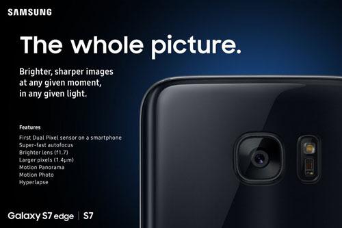 كاميرا جالاكسي S7 وS7 إدج