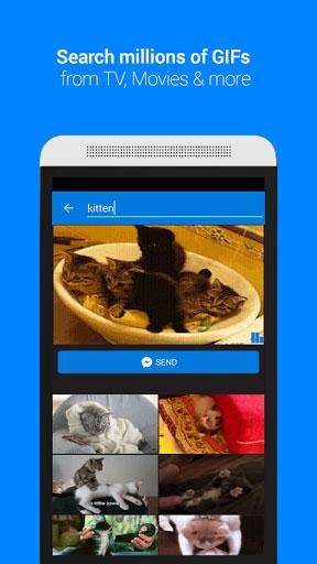 تطبيق GIF Keyboard: لوحة مفاتيح للصور المتحركة