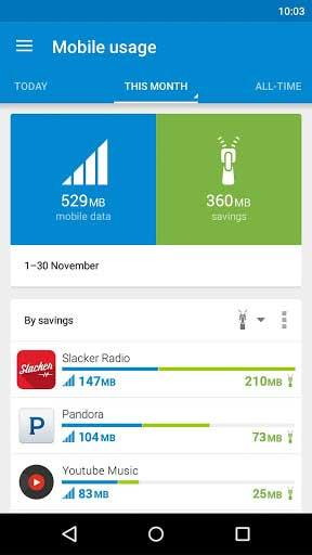 تطبيق Opera Max لتصفح الانترنت مع حفظ البيانات