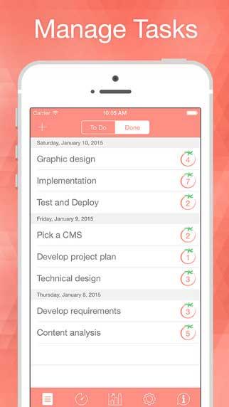 تطبيق Pomodoro Time Pro لتنظيم أهدافك