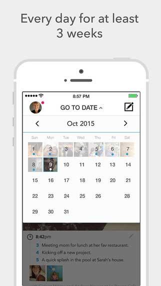 تطبيق Gratitude Journal لتسجيل لحظات حياتك يوميا