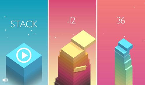 لعبة Stack المميزة بفكرتها وطريقة لعبها