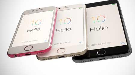 تصميم تخيلي للأيفون 5se باللون الوردي و أيفون 7 بلس بكاميرا مزدوجة