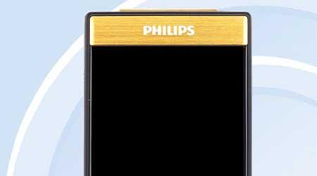 صورة تسريب صور ومواصفات جهاز Philips V800  – تصميم كلاسيكي