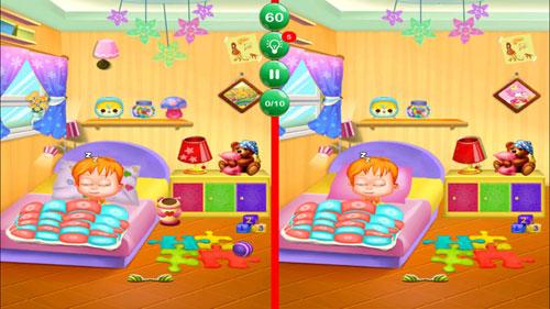 لعبة الفوارق المطورة للاطفال - ألغاز رائعة مليئة بالتحدي